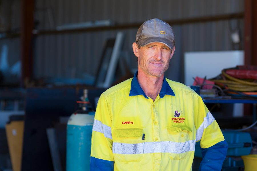 Daryl Kelly, Owner, Barcaldine Welding Works